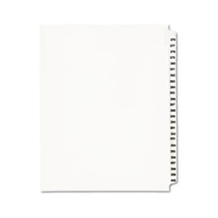 Avery® Avery-Style Legal Exhibit Side Tab Divider, Title: 376-400, Letter, White