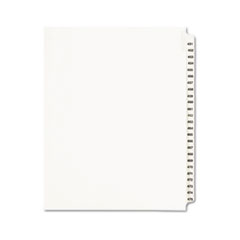 Avery® Avery-Style Legal Exhibit Side Tab Divider, Title: 451-475, Letter, White
