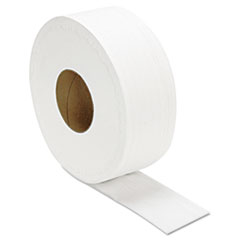 "GEN JRT Jumbo Bath Tissue, Septic Safe, 2-Ply, White, 3.3"" x 1000 ft, 12/Carton"