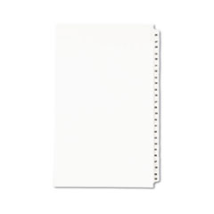 Avery® Avery-Style Legal Exhibit Side Tab Divider, Title: 26-50, 14 x 8 1/2, White