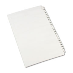 Avery® Avery-Style Legal Exhibit Side Tab Divider, Title: 101-125, 14 x 8 1/2, White