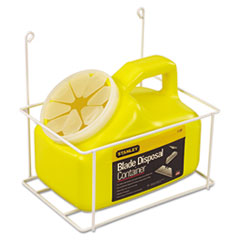 Stanley Tools® Blade Disposal Container With Wire Rack, 11-081