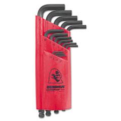 Bondhus® 15-Piece Ball-Driver L-Wrench Key Set, Metric