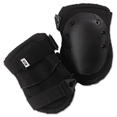 ALTA® AltaLok Knee Pads, Fastener Closure, Neoprene/Nylon, Rubber, Black
