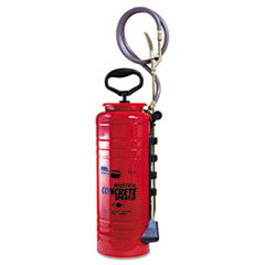 Chapin® Concrete Sprayer, 3.5gal, Open Head, Steel, Red