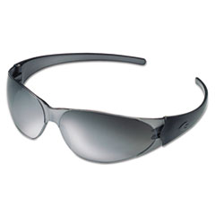 MCR™ Safety Checkmate Safety Glasses, Silver-Mirrored Lens