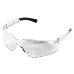 MCR™ Safety Bearkat Magnifier Protective Eyewear, Clear, 1.00 Diopter