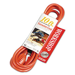 CCI® Vinyl Outdoor Extension Cord, 10ft, 13 Amp, Orange COC02304