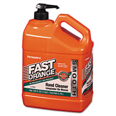 Permatex® Fast Orange Smooth Lotion Hand Cleaner, 1gal Bottle