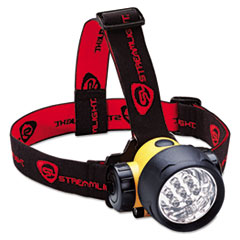 Streamlight® Septor LED Headlamp, Black/Yellow