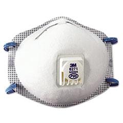3M™ Particulate Respirator 8271, P95, 10/Box