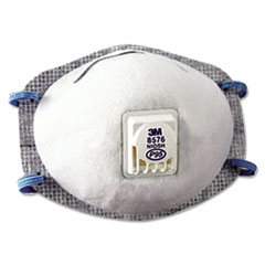 3M™ N95 Particulate Respirator, Half Facepiece, Oil Resistant, Fixed Strap