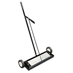 The Magnet Source™ Magnetic Floor Sweeper, With Release, 24in