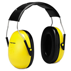 3M™ Optime 98 H9A Earmuffs, 25 dB NRR, Yellow/Black