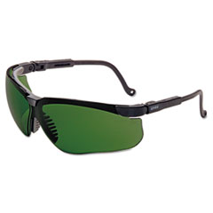 Honeywell Uvex™ Genesis Shooting Glasses, Black Frame, 3.0 ID Tint Lens