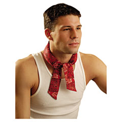 OccuNomix® Miracoll Bandana, Cowboy Red, One Size Fits All