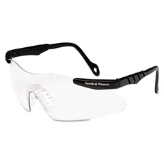 Smith & Wesson® Magnum 3G Safety Eyewear, Black Frame, Clear Lens