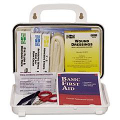 Pac-Kit® ANSI Plus #10 Weatherproof First Aid Kit, 76 Pieces, Plastic Case