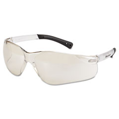 MCR™ Safety BearKat Safety Glasses, Frost Frame, Clear Mirror Lens