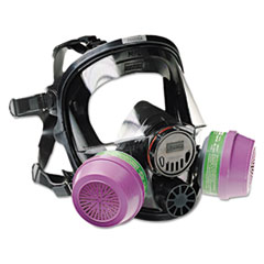 North Safety® 7600 Series Full-Facepiece Respirator Mask, Medium/Large