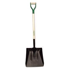 UnionTools® Steel Street Shovel, D-Handle, #4, 38in Handle