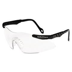 Smith & Wesson® Magnum 3G Safety Glasses, Mini Black Frame, Clear Lens