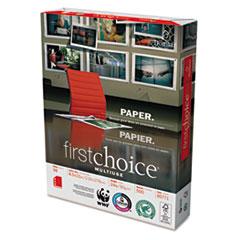 Domtar MultiUse Premium Paper, 3-Hole Punch, 98 Brightness, 24lb, Ltr, White, 500/Ream