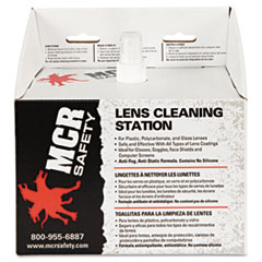 MCR™ Safety Disposable Lens Cleaning Station, 300 Tissues, 8oz Solution