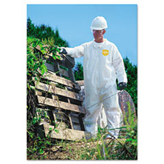 DuPont® ProShield NexGen Coveralls, Zip Closure, Large