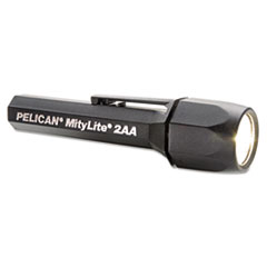 Pelican® MityLite SuperDuper Flashlight, 2AA, Black, Xenon