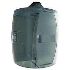 Image of Contemporary Wall Mount Wipe Dispenser, Smoke Gray General Household TXLL80 2XL