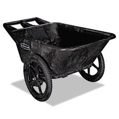 Rubbermaid® Commercial Big Wheel Agriculture Cart, 300-lb Capacity, 32.75w x 58d x 28.25h, Black