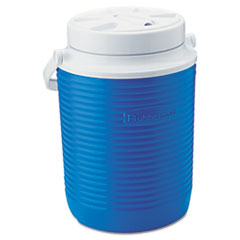 "Rubbermaid® Victory Jug, 1gal, 8 1/3""dia x 11""h, Blue/White"
