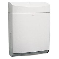 Bobrick Matrix Series Surface-Mounted Paper Towel Dispenser, 11.5 x 4.75 x 15.25, Gray
