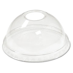 Boardwalk® Crystal-Clear Sundae/Cold Cup Dome Lids Thumbnail