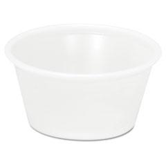 Pactiv Plastic Soufflé/Portion Cups, 2oz, Translucent, 200/Bag, 12 Bags/Carton