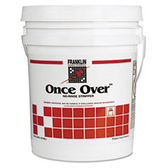 Franklin Cleaning Technology® Once Over Floor Stripper, Liquid, 5 gal. Pail