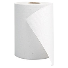 GEN Hardwound Roll Towels, White, 8 x 350' GEN1800