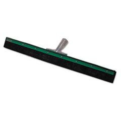 Unger® Aquadozer Heavy Duty Floor Squeegee, 18 Inch Blade, Green/Black Rubber, Straight