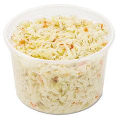 Dart® MicroGourmet Food Container, 16 oz, Translucent, 500/Carton