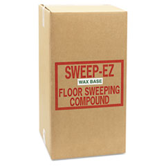 Sorb-All Wax-Based Sweeping Compound, 50lbs, Box