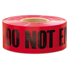 "Empire 1,000 ft. x 3 in. ""Danger Do Not Enter"" Barricade Tape (Red)"