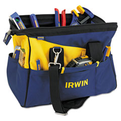 IRWIN® Contractors Zippered Tool Bag, 16in