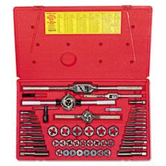 IRWIN® 54-Piece Machine Screw/Fractional Tap and Die Super Se
