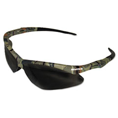 KleenGuard™ Nemesis Safety Glasses, Camo Frame, Smoke Anti-Fog Lens