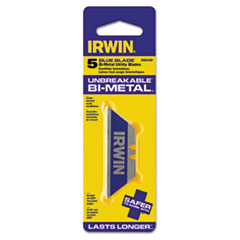 IRWIN® Utility Knife Bi-Metal Traditional Replacement Blades, 5 Pack