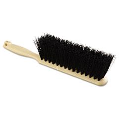 "Boardwalk® Counter Brush, Polypropylene Fill, 8"" Long, Tan Handle"