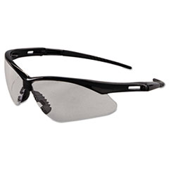 KleenGuard™ Nemesis Safety Glasses, Black Frame, Clear Anti-Fog Lens