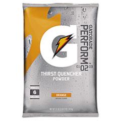 Gatorade® Original Powdered Drink Mix, Orange, 51oz Packets, 14/Carton GTD03968