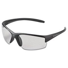 Smith & Wesson® Equalizer Safety Glasses, Gun Metal Frame, Clear Anti-Fog Lens